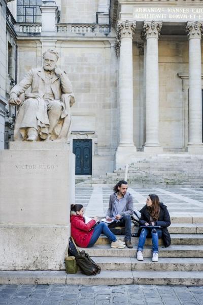Au coeur de la Sorbonne
